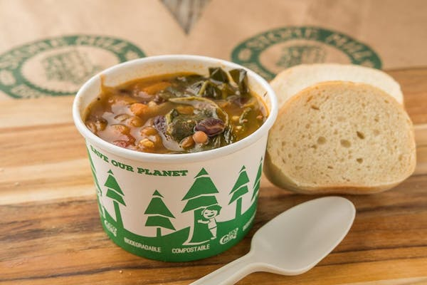 Organic Vegetable & Bean Soup