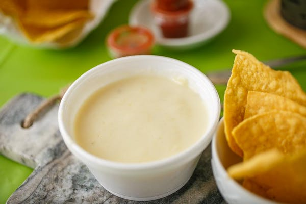 White Queso & Chips