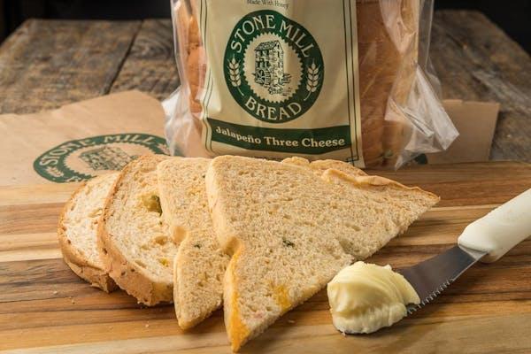 Jalapeño Three Cheese Bread