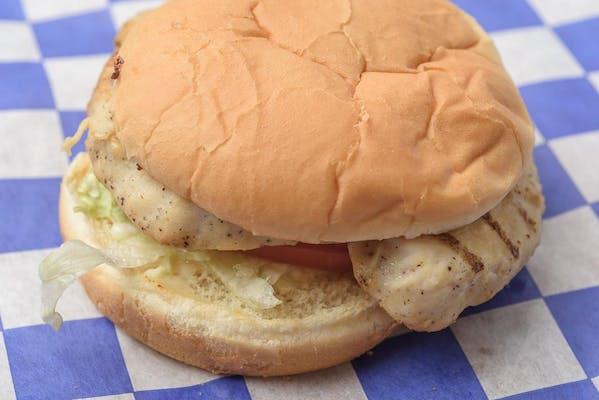 12. Grilled Chicken Breast Sandwich