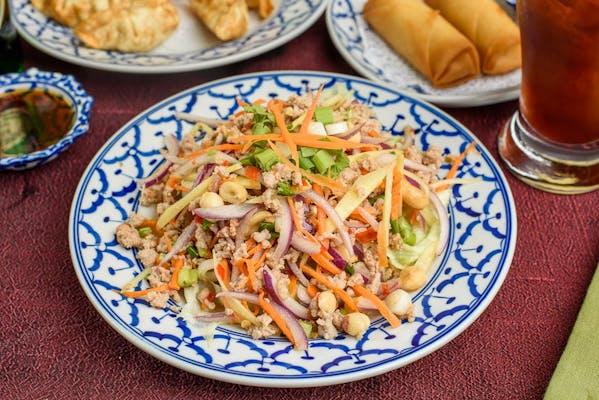 A5. Naam Sod (Thai Salad)
