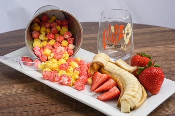 Strawberry Banana Popcorn