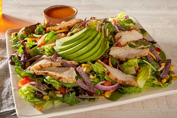 Southwest Chicken & Avocado Salad