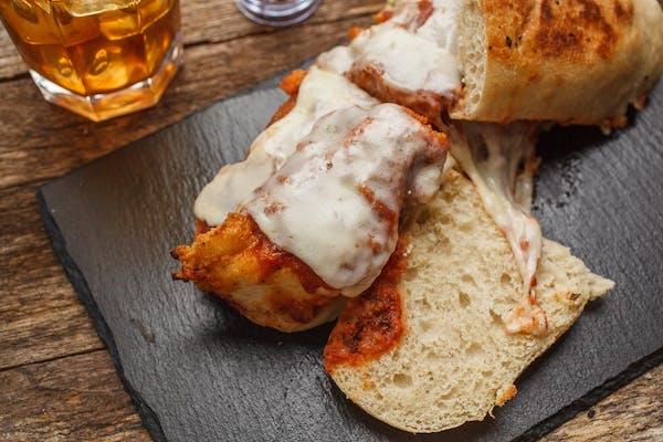 Chicken Parmesan Sub