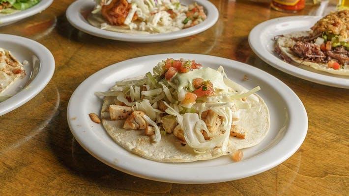 Grilled Chicken Taco