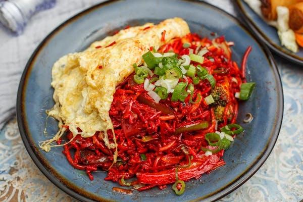 Triple Fried Rice Noodle