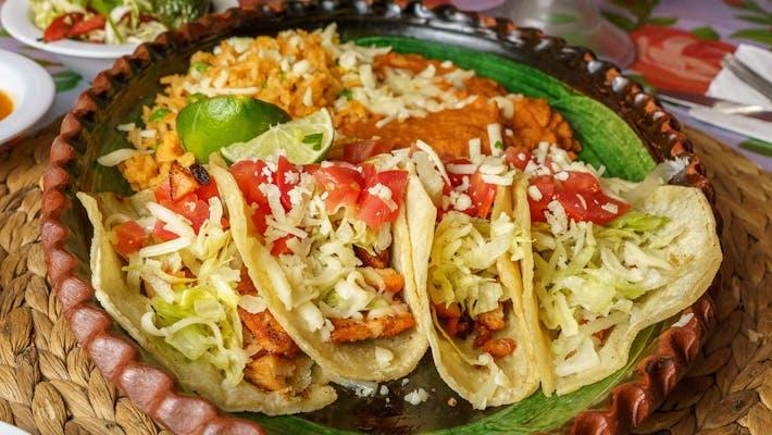 Marinated Chicken Tacos (Pollo)