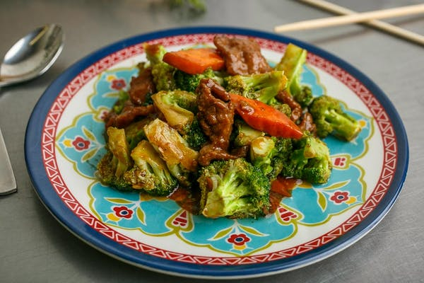 CP7. Beef with Broccoli