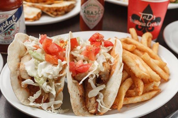 Cajun Tacos