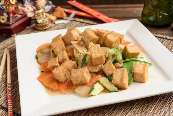 Pad Ped Tofu