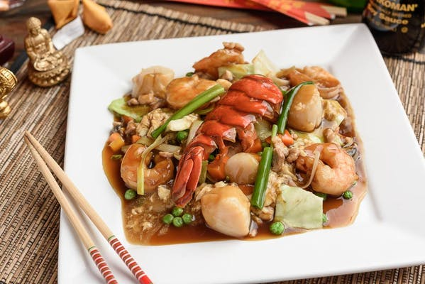 Seafood Cantonese-Style