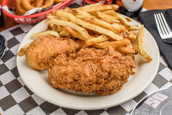 Fried Chicken Dinner (White Meat)