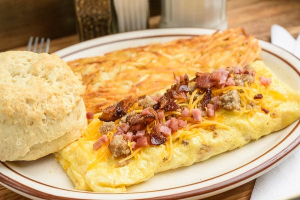 The Meat Lover's Omelet