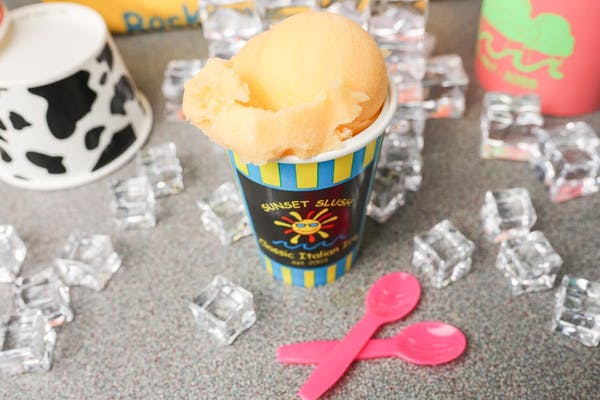 Mango Italian Ice