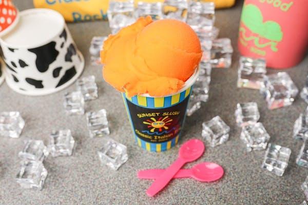 Peach Italian Ice