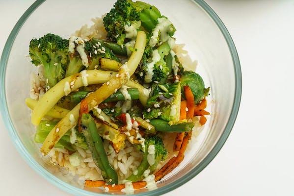 Garden Heat Salad