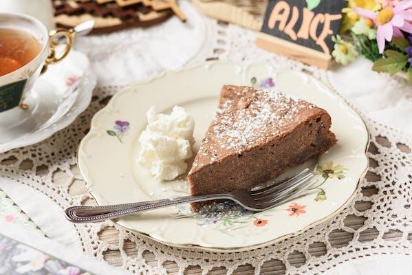 German Schwarzwälder Cake Slice