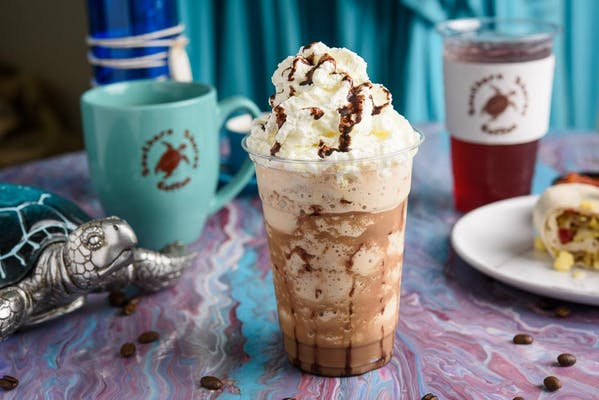 Chocolate Chip Cookie Dough Frappe