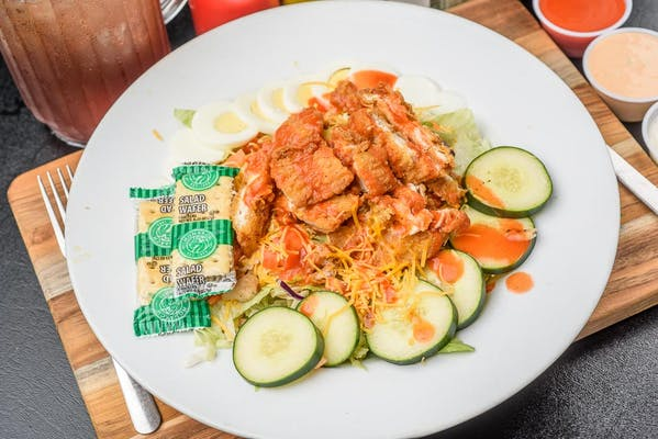 Buffalo Chicken Chef Salad