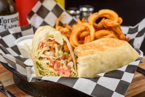 Crunchy Chicken Ranch Wrap