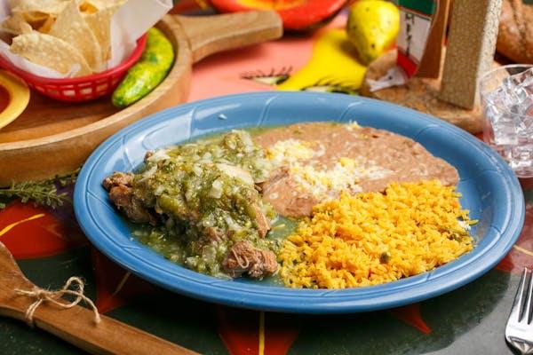 Carnitas en Salsa Verde