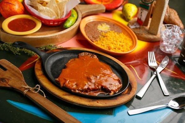 Beef Steak Ranchero