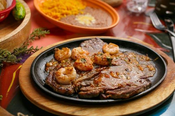Beef Steak & Shrimp