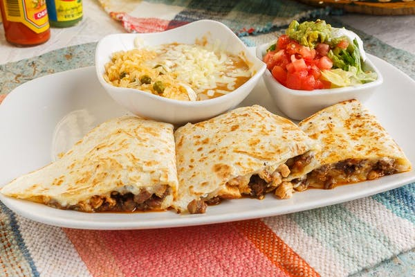 Shredded Chicken Quesadilla