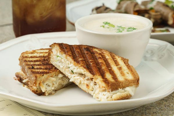 Crab Grilled Cheese Sandwich