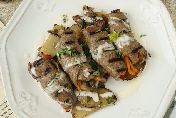 #4 Meal Prep - Sirloin Fajita Wraps