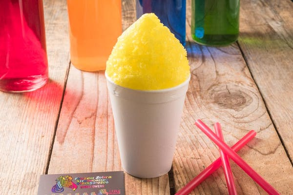 Sugar-Free Banana Snow Cone