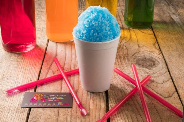 Sugar-Free Blue Raspberry Snow Cone