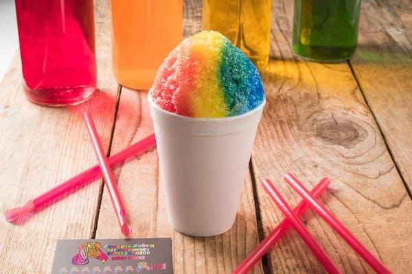 Rainbow Snow Cone