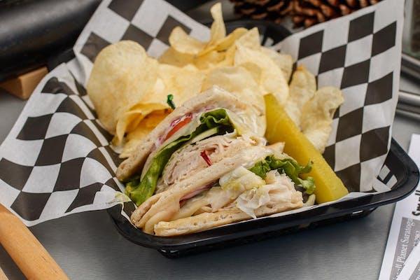 Turkey Gone Wild Sandwich