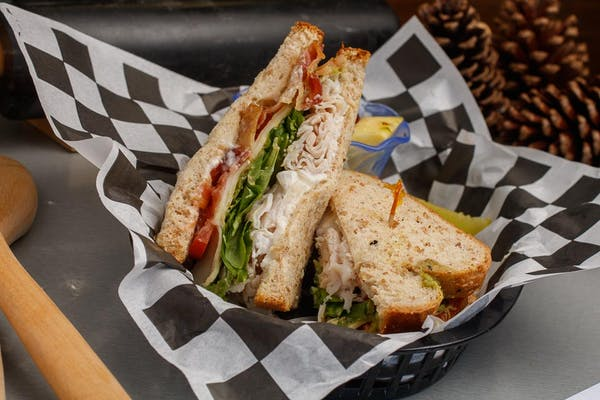 Bacon, Turkey & Avocado Sandwich