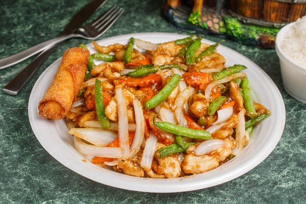 C11. Chicken with Green Beans
