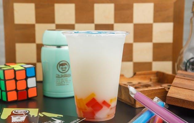 49. Lychee Yogurt Drink