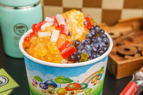 Passion Fruit Shaved Ice