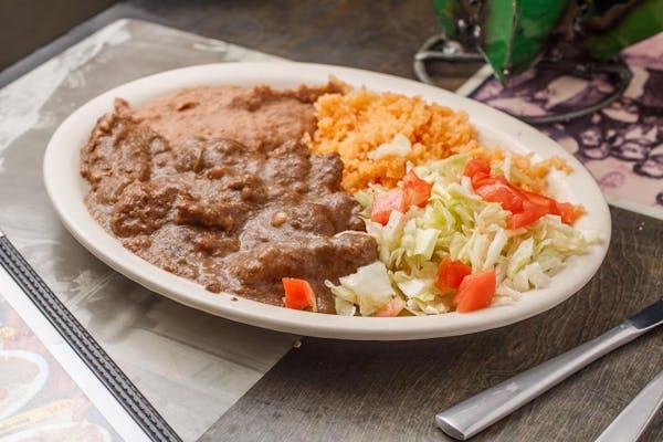 Carne Guisada Plate