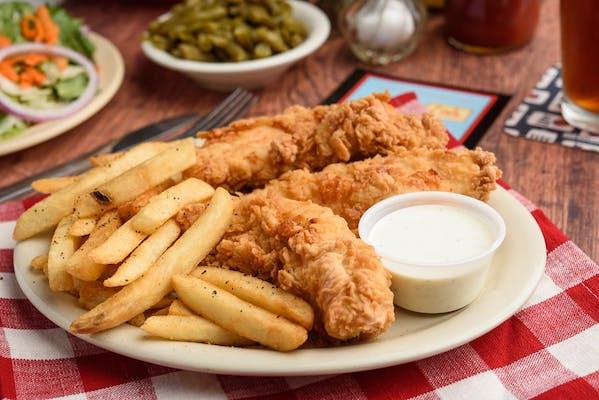 Chicken Fingers Dinner