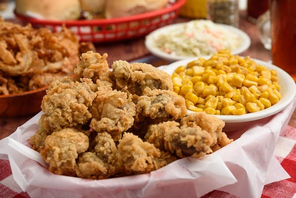 Southern Fried Liver Dinner