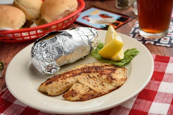 Grilled Alaskan Whitefish
