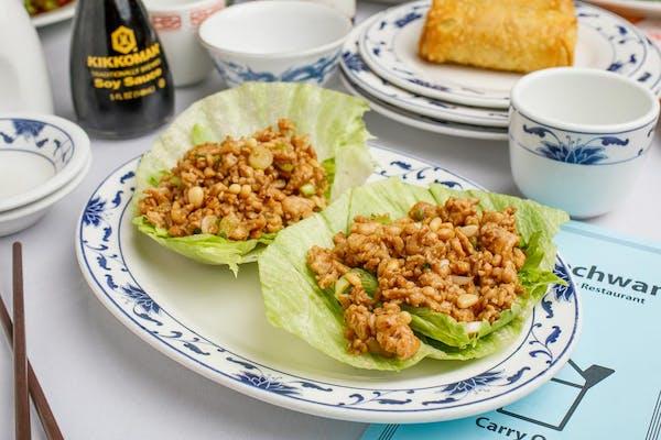 8. Chicken Lettuce Wrap