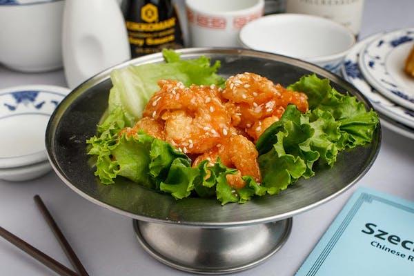 10. Candy Crispy Shrimp