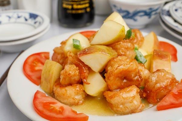 6. Apple Shrimp
