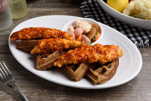 Louisiana Hot Chicken & Waffles