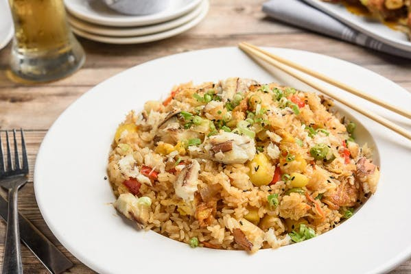 Hawaiian Crab Fried Rice