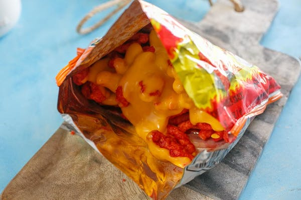 Hot Cheetos with Cheese