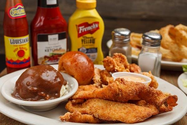 Shrimp & Fish Dinner
