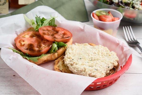 Chicken Salad Sandwich & Grilled Croissant